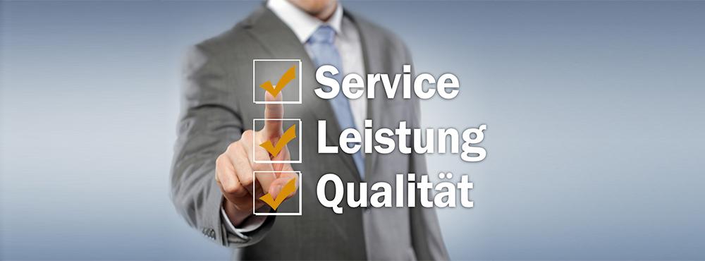 Service, Leistung, Qualitt